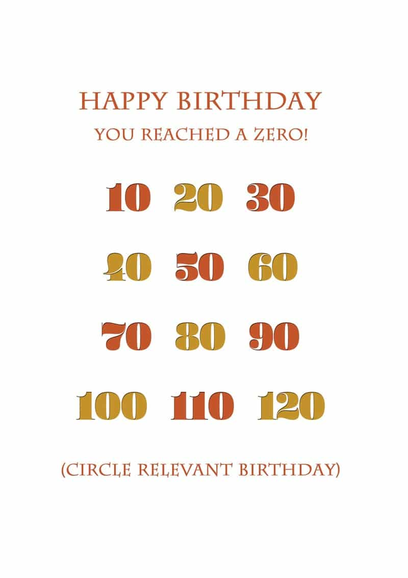 A Birthday Card